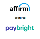Affirm acquired PayBright