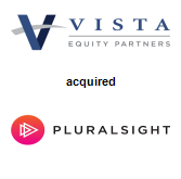 Vista Equity Partners acquired Pluralsight