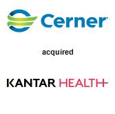 Cerner Corporation acquired Kantar Health