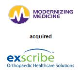 Modernizing Medicine acquired Exscribe Inc.