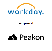 Workday, Inc. acquired Peakon