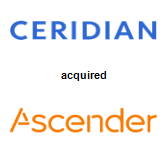 Ceridian Corporation acquired Ascender Group