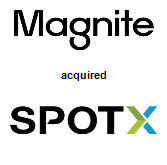Magnite acquired SpotX, Inc.