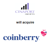 Cinaport Capital Inc. will acquire Coinberry Limited