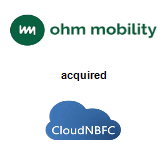 Ohm Mobility acquired CloudNBFC