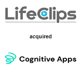 Life Clips, Inc. acquired Cognitive Apps
