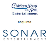 Chicken Soup for the Soul Entertainment acquired Sonar Entertainment, Inc.