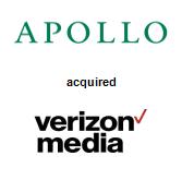 Apollo Global Management acquired Verizon Media