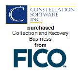 Constellation Software, Inc. purchased Collection and Recovery Business from FICO