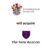 Tonbridge School will acquire The New Beacon Preparatory School
