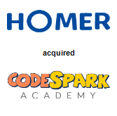 Homer acquired codeSpark