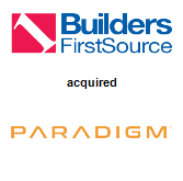 Builders FirstSource, Inc. acquired WTS Paradigm