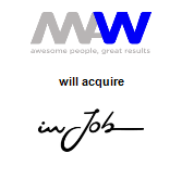 Men at Work will acquire InJob
