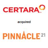 Certara acquired Pinnacle 21